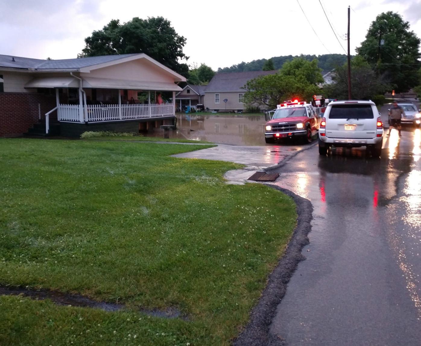 Barrackville flooding