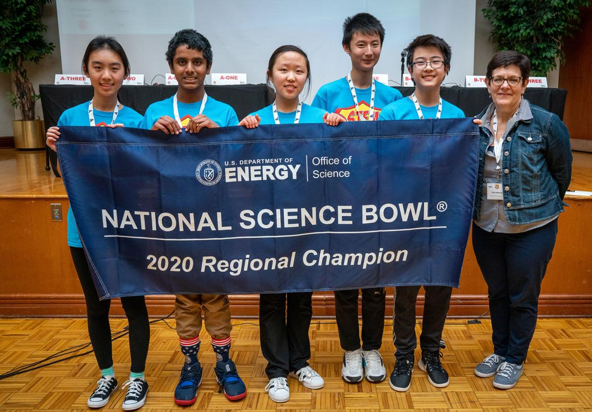 Suncrest Middle School winning team