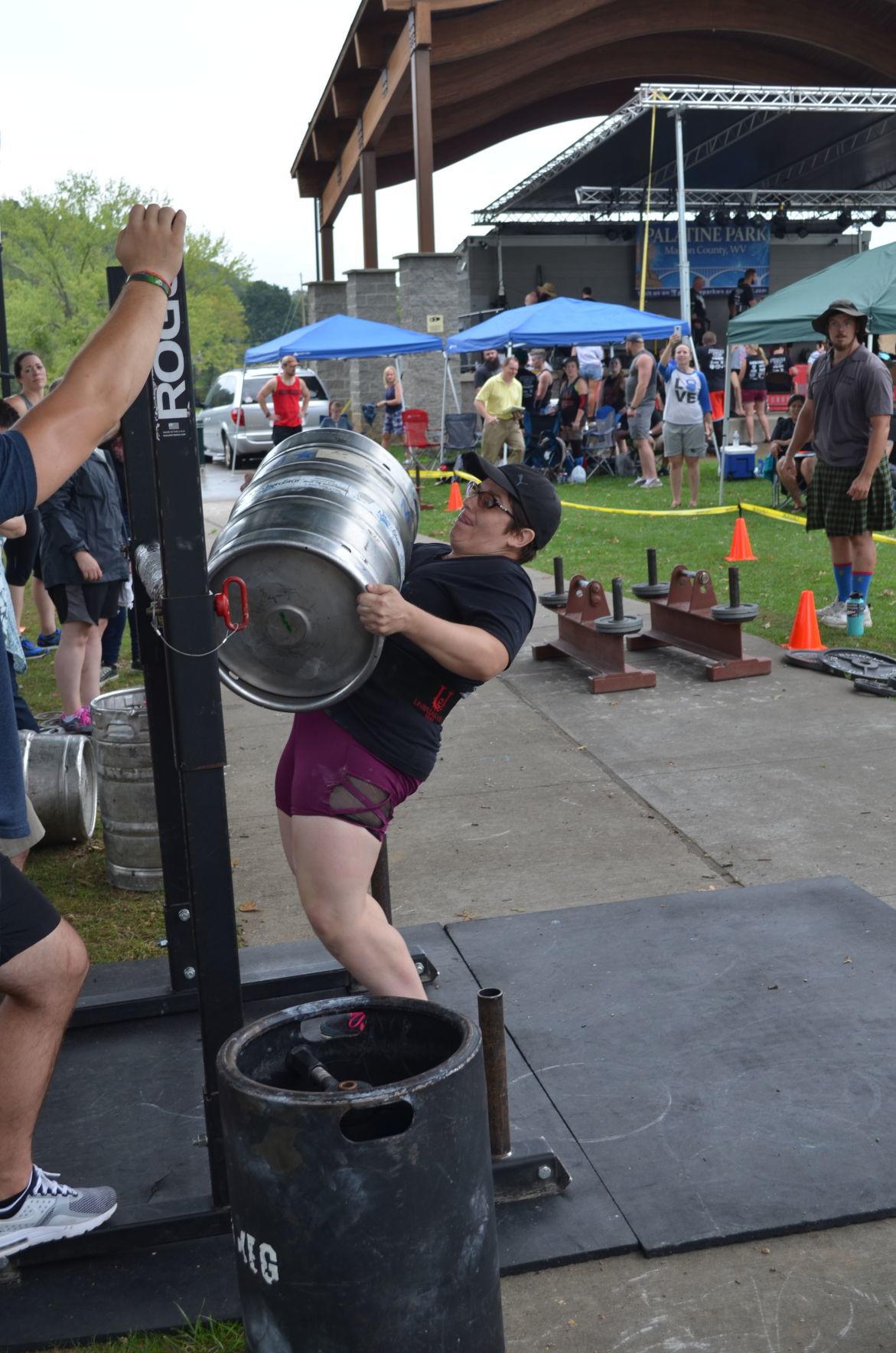 America's Strongest Viking - Keg lift