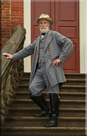 Stone as Gen. Lee