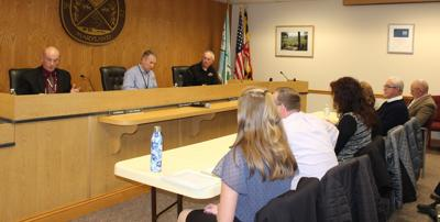 Commissioners' meeting with BOE
