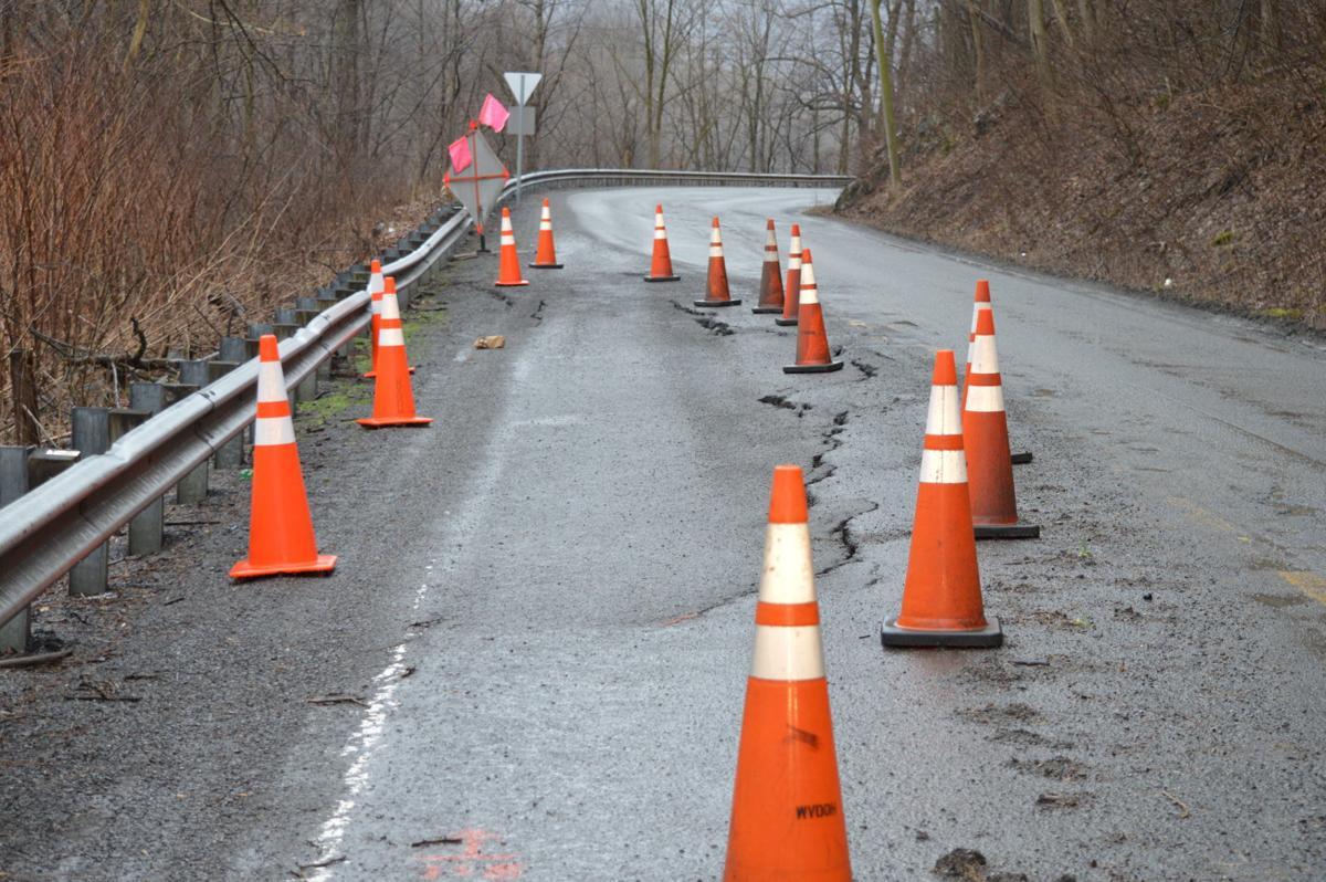 Road Slippage — W.Va. 72