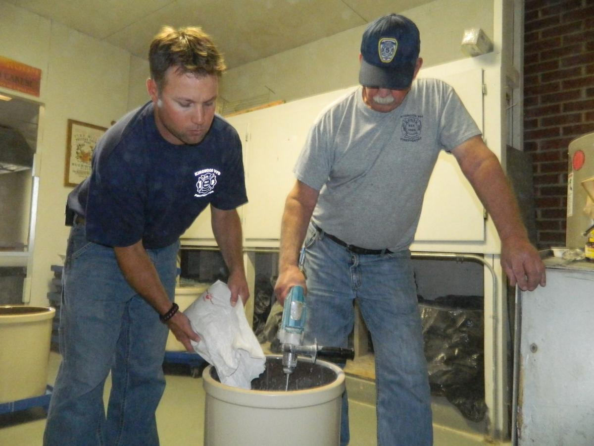Preparing the Buckwheat Batter
