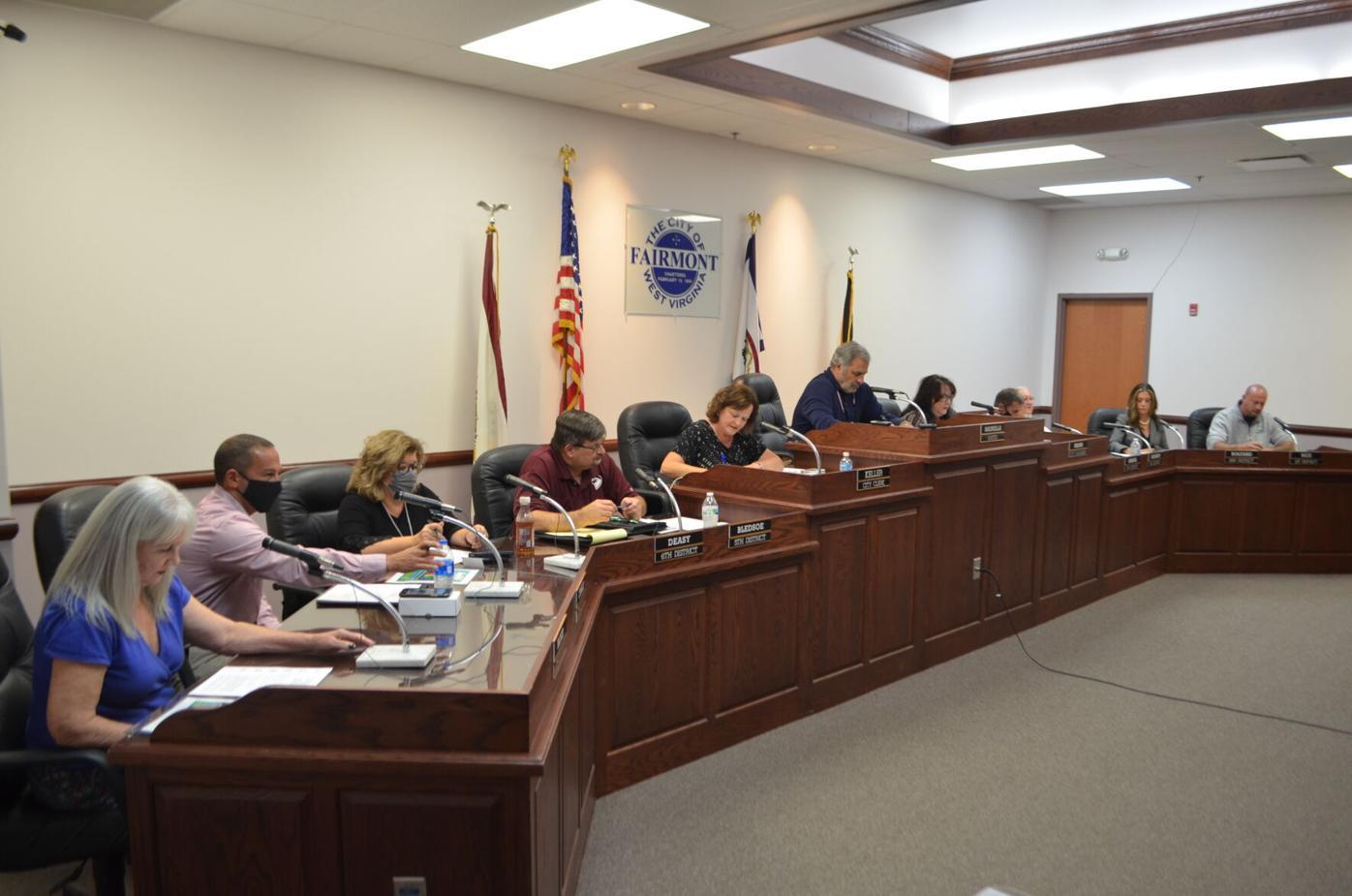 Fairmont City Council 10-12-2021