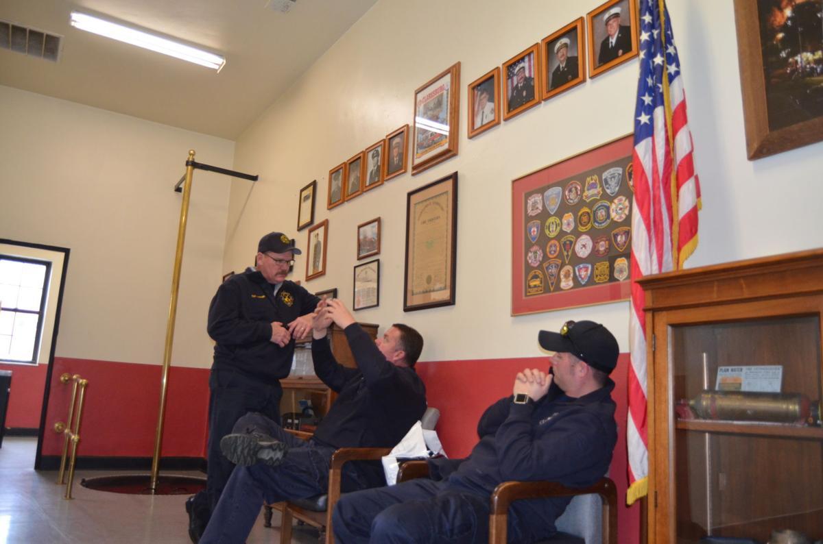 Clarksburg Fire Department crew