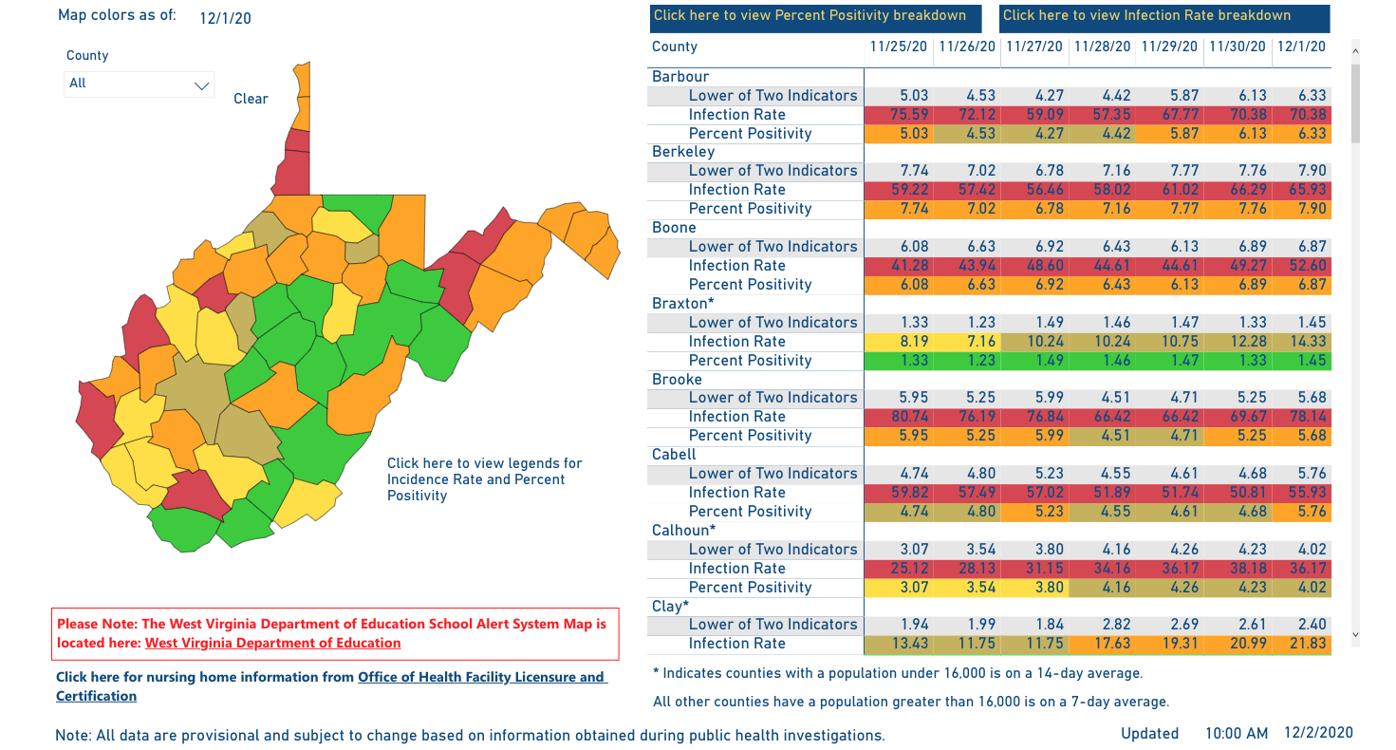 County Alert Map 12-02