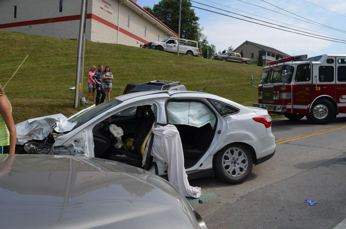 Friday morning wreck injures four, closes W Va  Route 7 for two