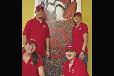 AZ Chimney Cakes owners Zaaron Williams and Kathy Williams