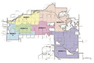 Mesa Council Districts