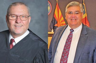North Mesa Judge Kyle Jones and East Mesa Judge Keith Russell