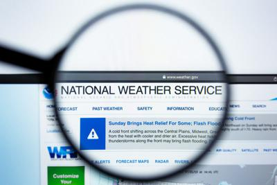 national weather service STOCK