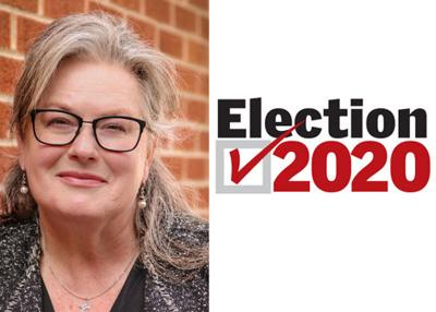 Donna Rice election mug