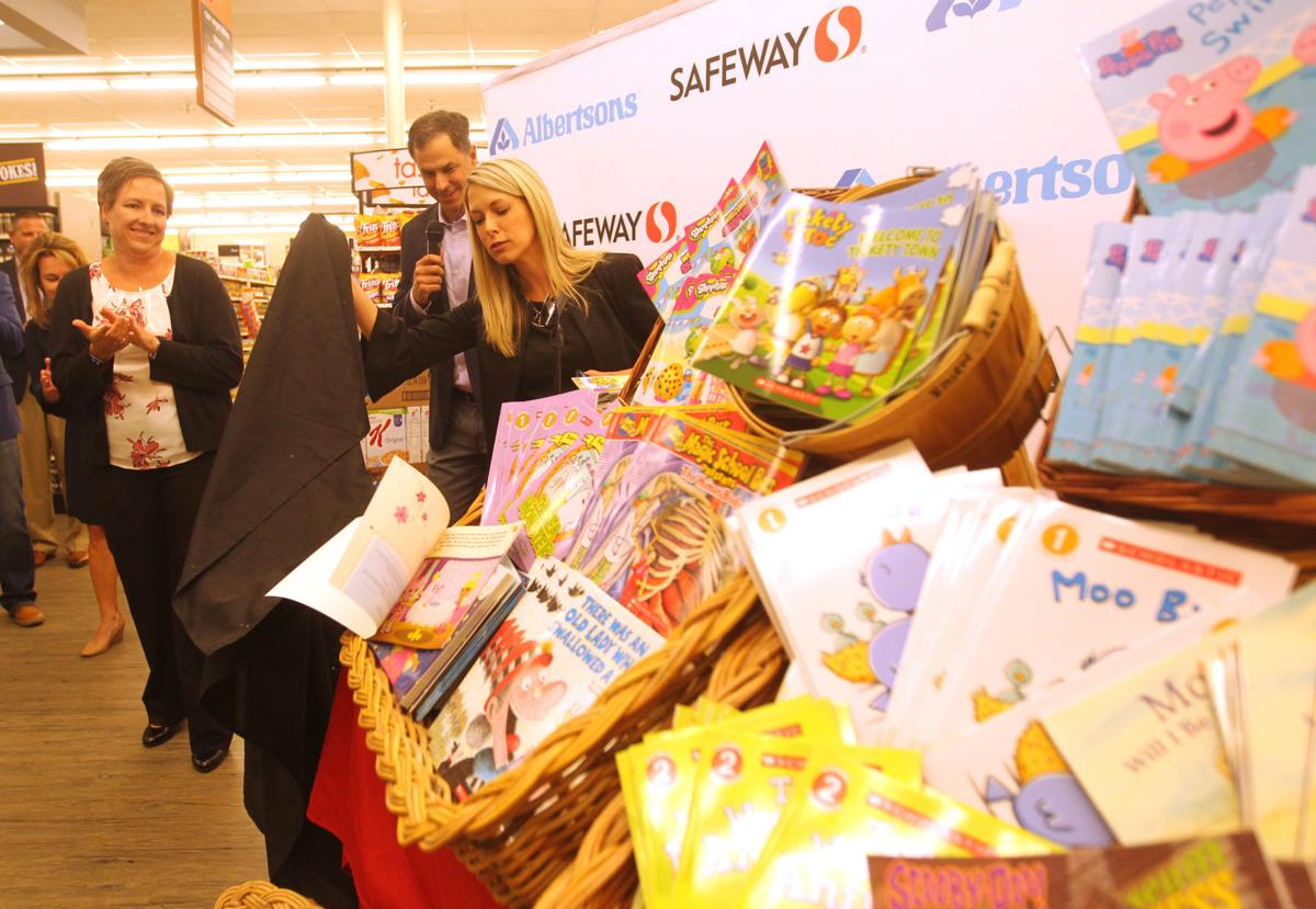 Albertsons, Kellogg's donate thousands to support Wyoming readers