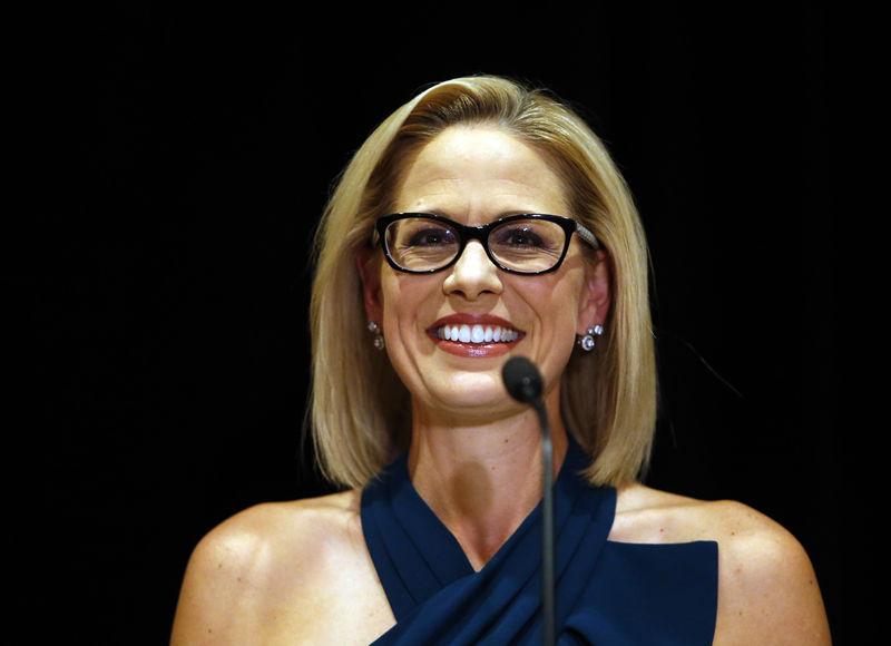 Centrist Democrat Kyrsten Sinema flips Arizona Senate seat