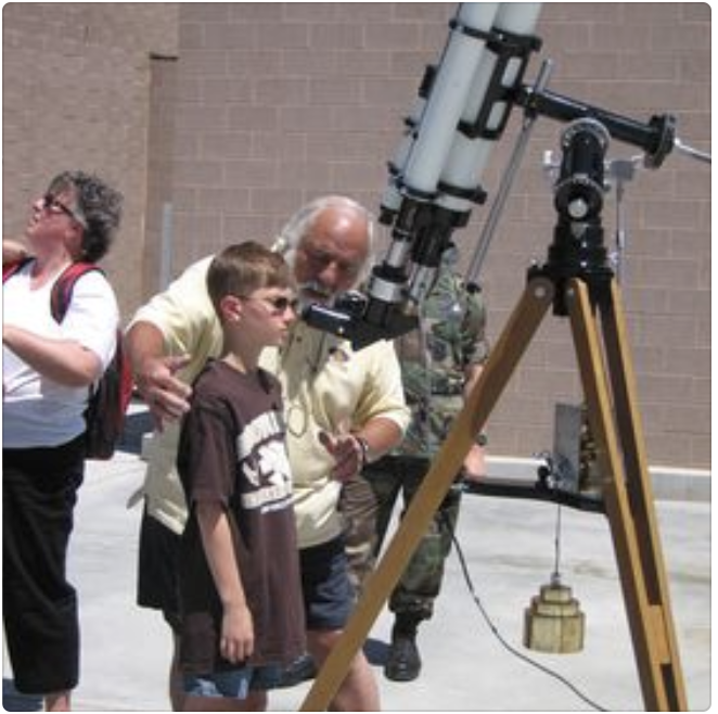 Ray Martin, Laramie Astronomical Society and Space Observers