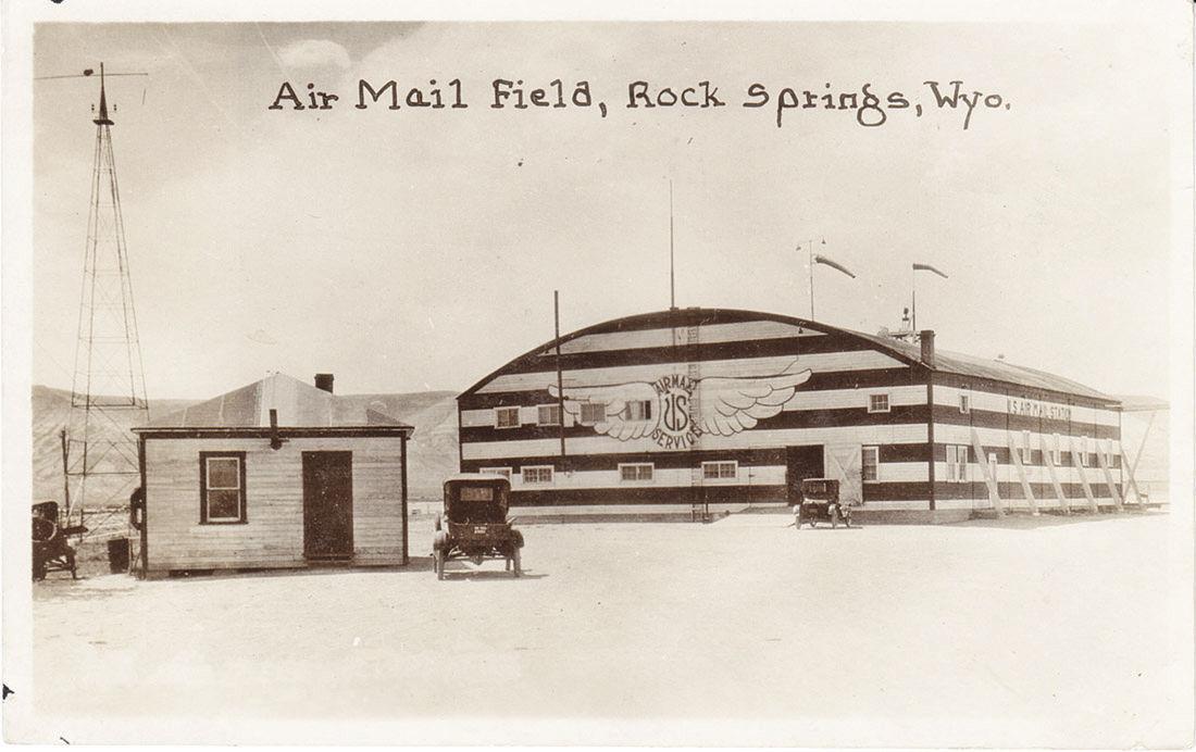Postcard airmail service