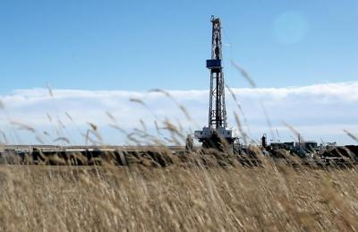 Oil drilling in Laramie County