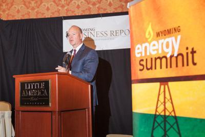 Matt Mead at 2016 Wyoming Energy Summit