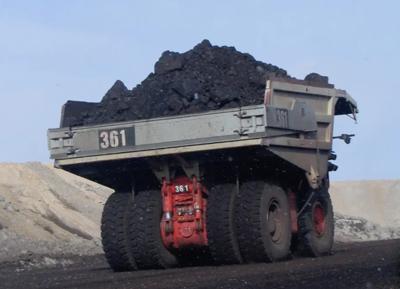 Coal truck Belle Ayr