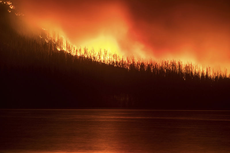 Glacier latest U.S. park to be scorched by Western wildfires | Wyoming News