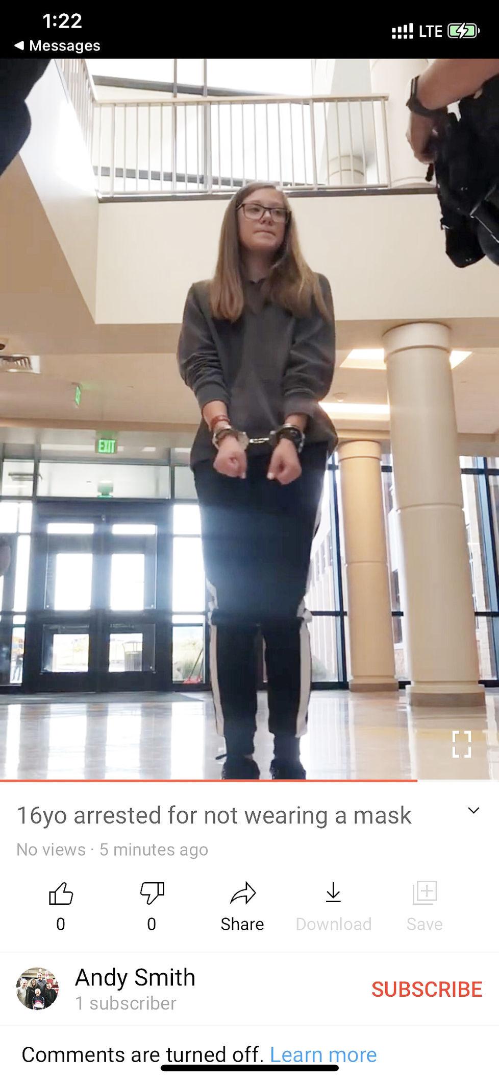 Grace Smith arrest