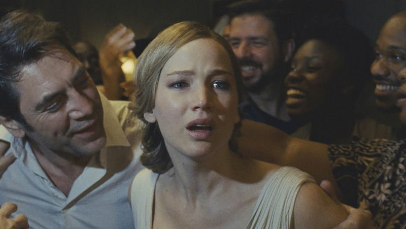 Jennifer Lawrence's mother! earns rare F CinemaScore