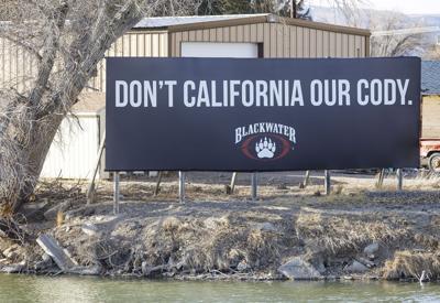 """Don't California Our Cody"" billboard"