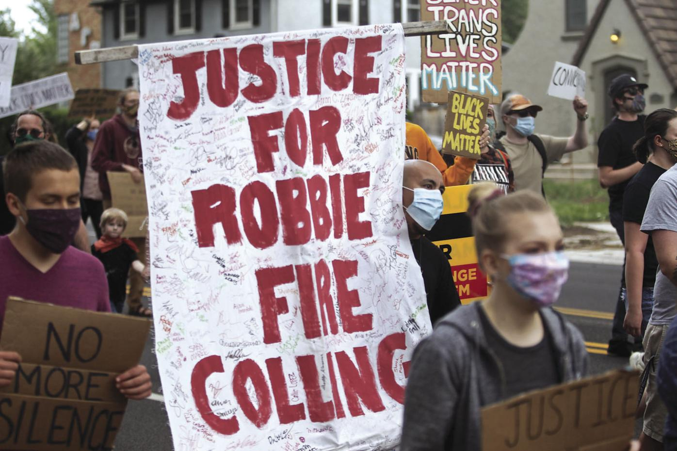 Protest-Colling No. 1