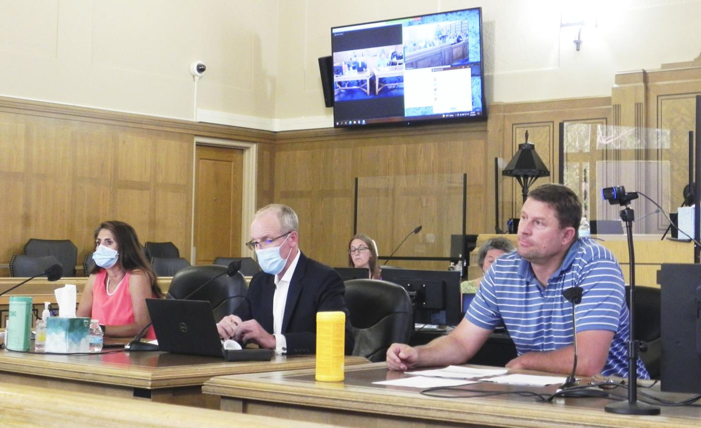 County Commission special meeting-Rail Tie