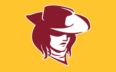 Laramie Lady Plainsmen LHS Logo Yellow