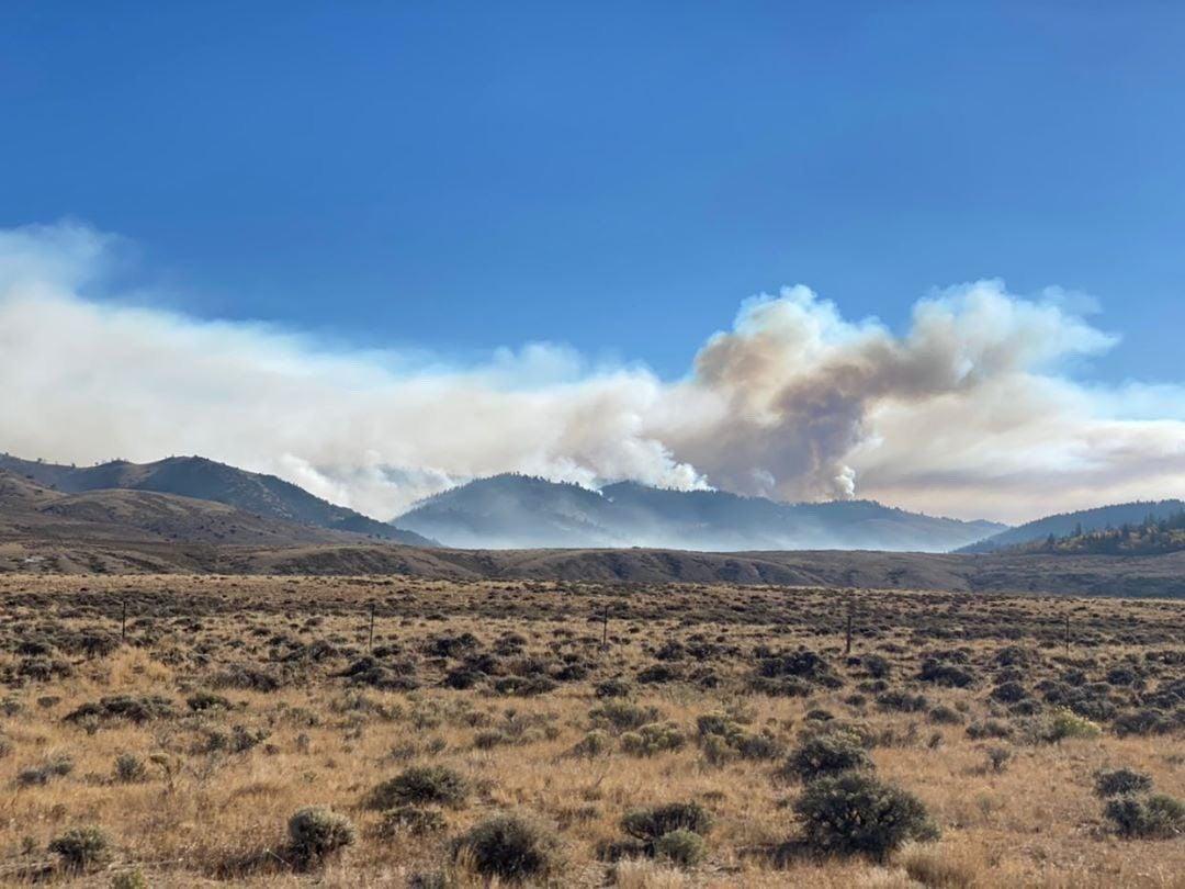 Mullen Fire photo, Wednesday, Sept. 30