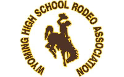 Wyoming High School Rodeo Association logo