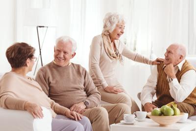 Elder people STOCK