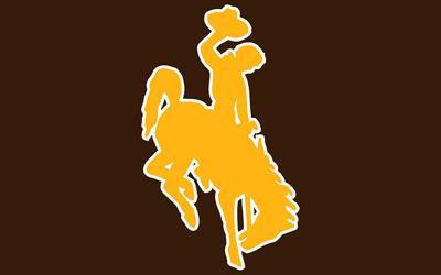 University of Wyoming UW Steamboat logo brown