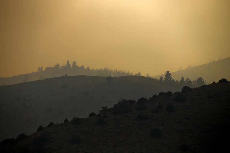 Interactive map of the 2018 Badger Creek Fire   Wyoming News