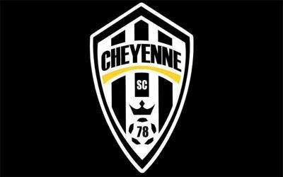 Cheyenne Soccer Club Sting logo black