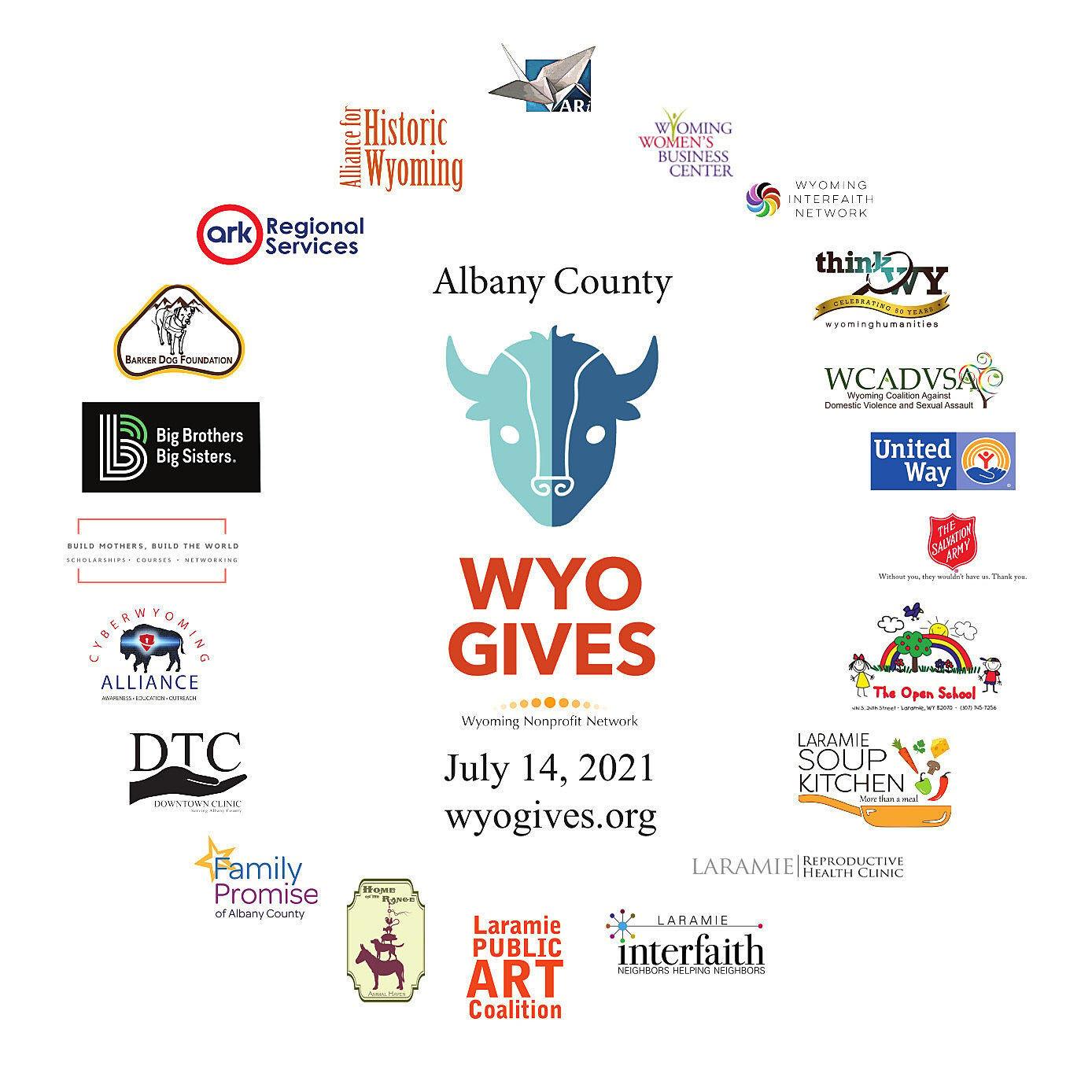 WyoGives Albany County logo 2021