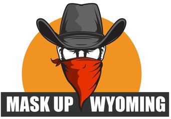 Mask Up Wyoming logo