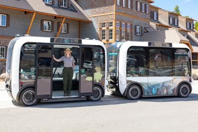 """TEDDY, """"The Electric Driverless Demonstration in Yellowstone."""""""
