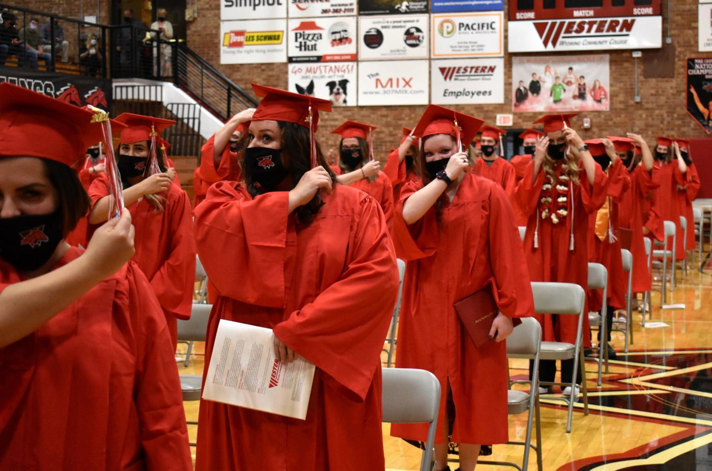 Front page: Western Graduation 21 tassel switch