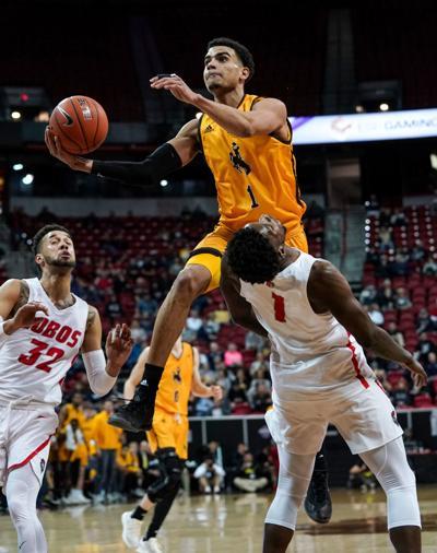 NCAA Men's Basketball: Wyoming vs New Mexico Mountain West Tournament 2019: