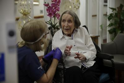 Virus Outbreak Britain Nursing Home