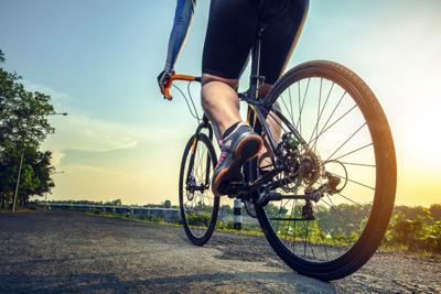 bicyclist STOCK