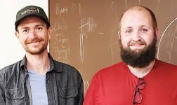 Thomas Boothby and Ryan Bettcher, LifeGlass founders