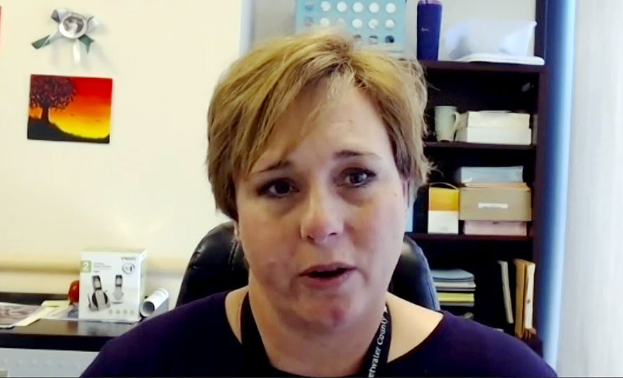 Kim White, director of emergency services at Memorial Hospital of Sweetwater County