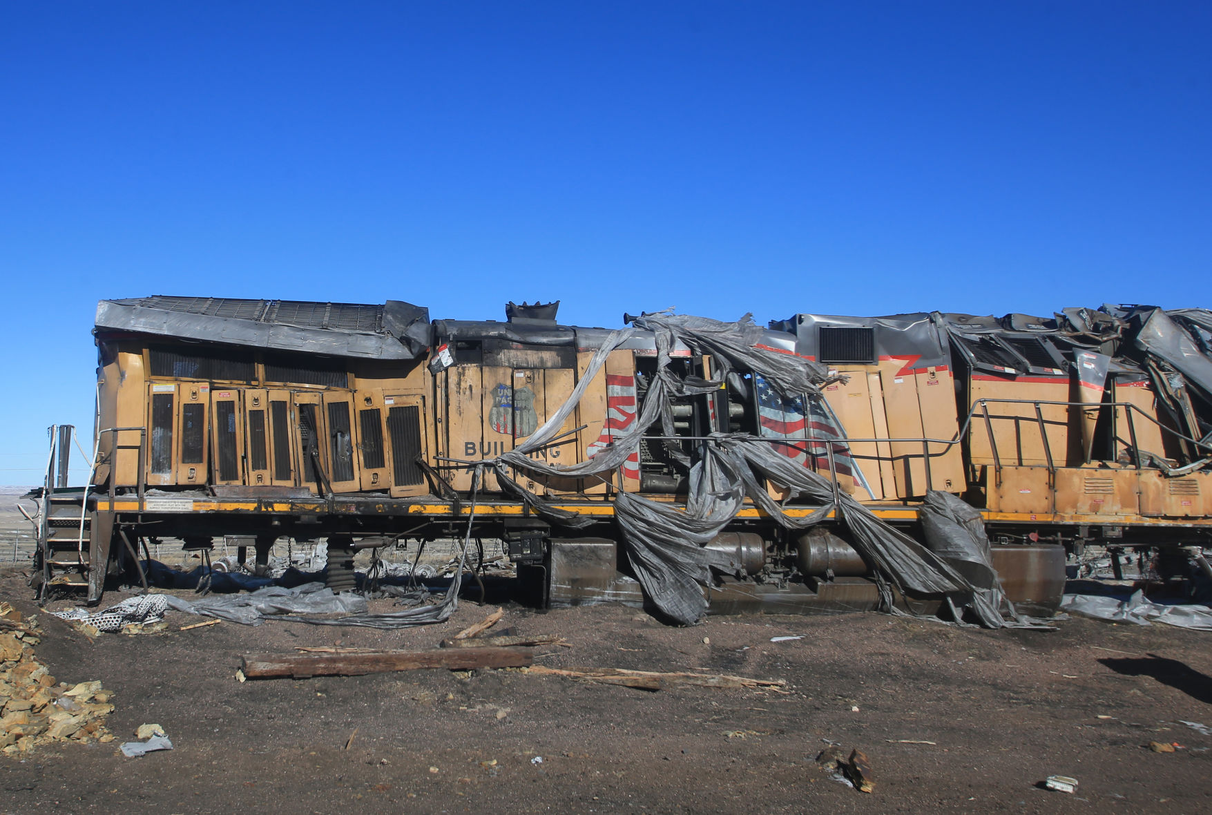 Union Pacific still clearing October crash wreckage | Wyoming News