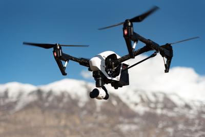 Drone stock photo