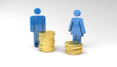 gender wage gap STOCK