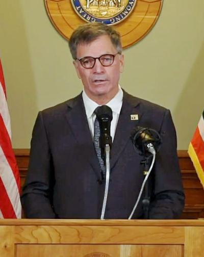 Governor Gordon press conference Nov. 13, 2020