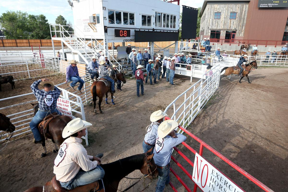 Cfd 2019 Tie Down Roping Slack Cheyenne Frontier Days